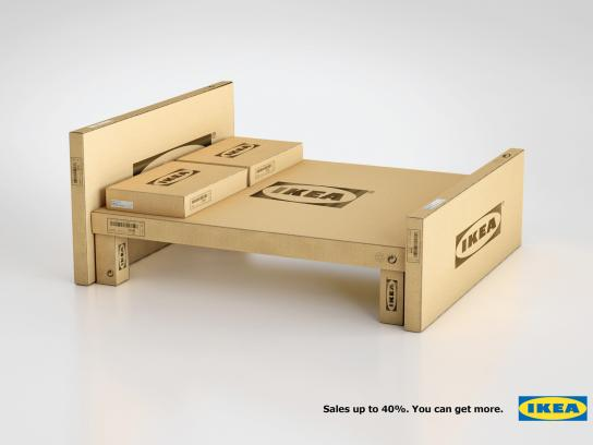IKEA Print Ad -  Sales, Bed