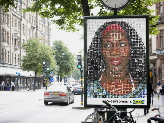 IKEA Outdoor Ad -  Face, 4