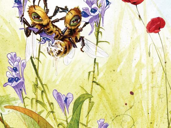 Lust Erotic Boutique Print Ad -  Birds & Bees, 2