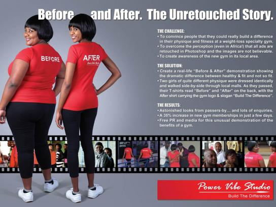 Power Vibe Studio Ambient Ad -  Before and After