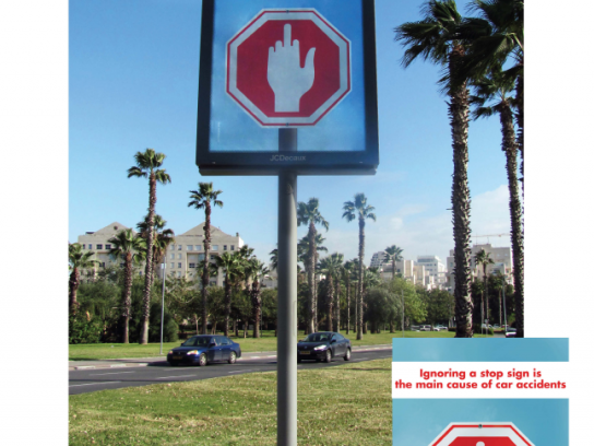 JCDecaux Outdoor Ad -  Some signs can't be ignored
