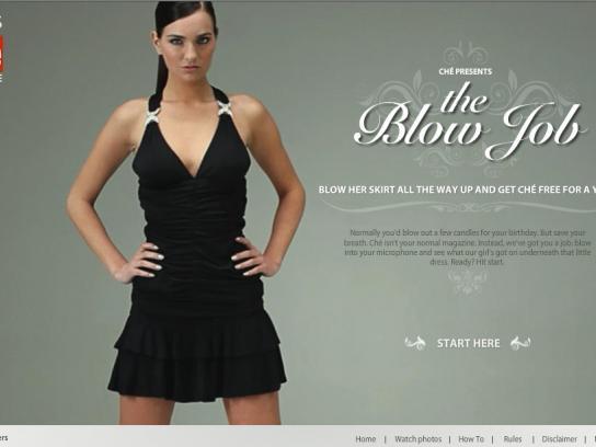 Ché Digital Ad -  The blow job