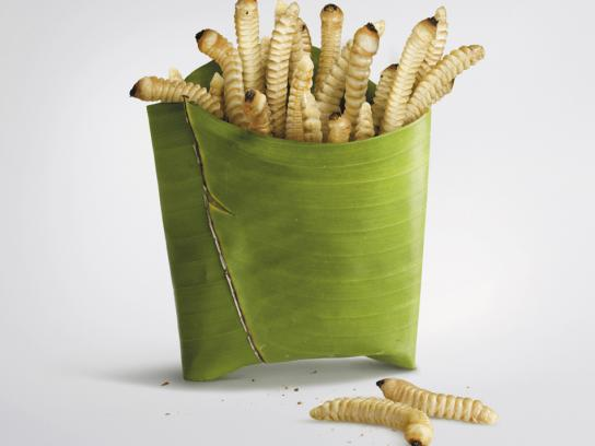 Prime TV Print Ad -  Fries