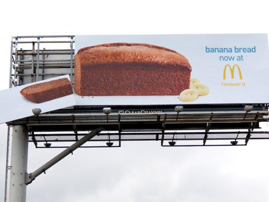 McDonald's Outdoor Ad -  Banana Bread Arrives