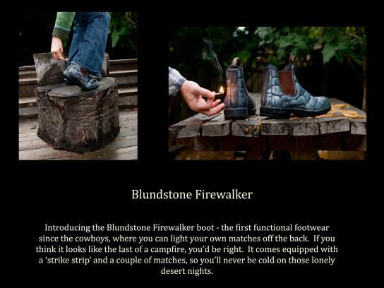 Blundstone Ambient Ad -  Firewalker