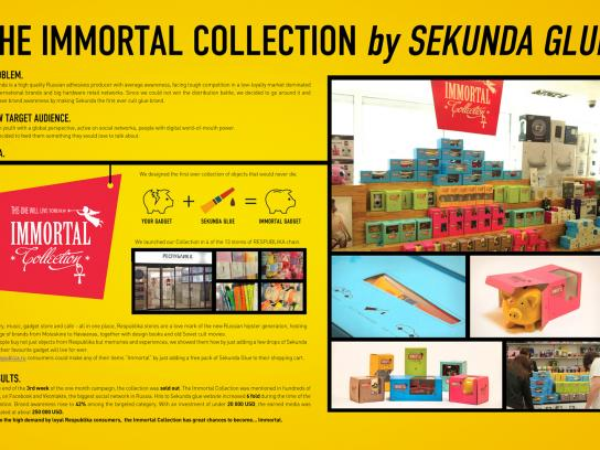 Sekunda Ambient Ad -  The Immortal Collection