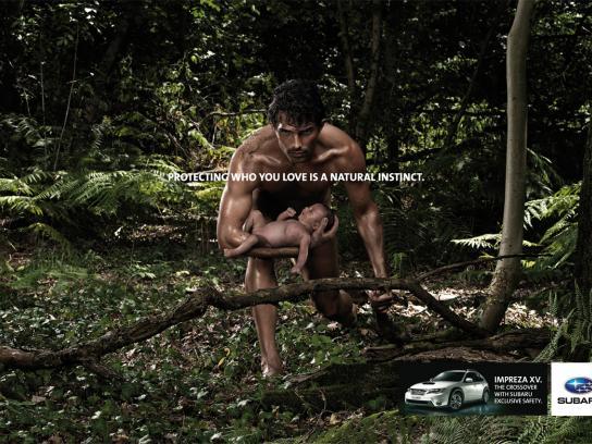 Subaru Print Ad -  Man