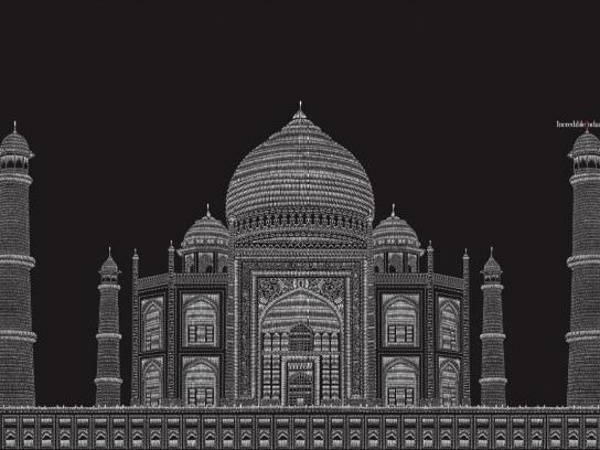 Incredible India Print Ad -  Taj Mahal