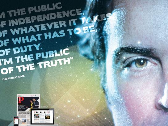 Público Print Ad -  The public is me, 2