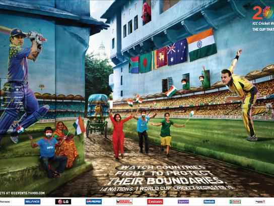 ICC Cricket World Cup Print Ad -  India