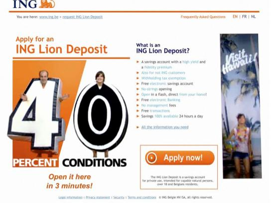 ING Digital Ad -  ING LiveSite