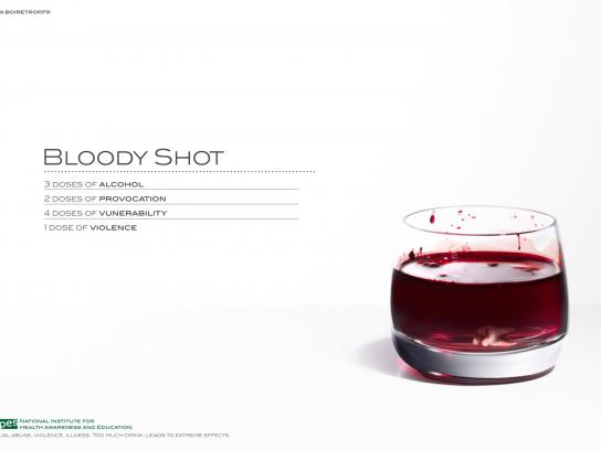 INPES Print Ad -  Cocktail, 2