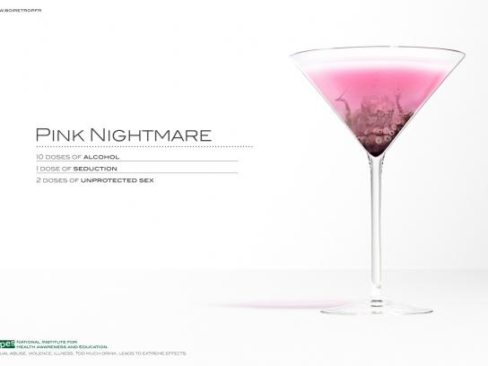 INPES Print Ad -  Cocktail, 5