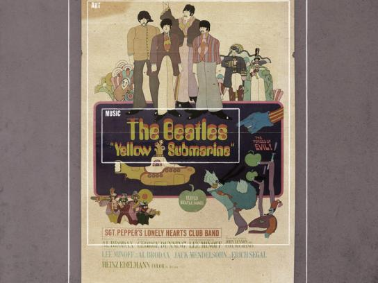 Inrockuptibles Print Ad -  Beatles