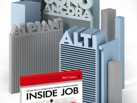 Feltrinelli Print Ad -  Inside Job