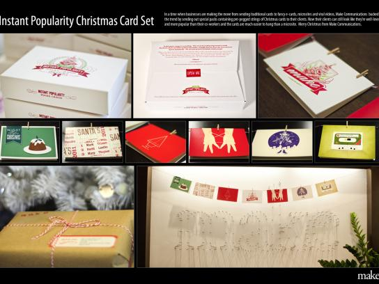 Make Direct Ad -  Instant Popularity Christmas