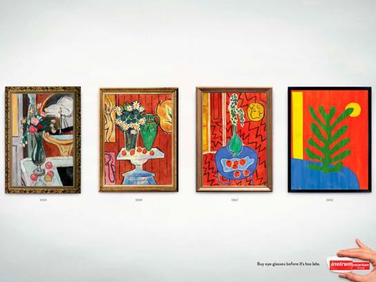 Instru Optiikka Print Ad -  Matisse
