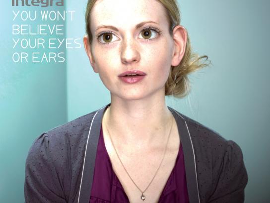 Integra Print Ad -  Girl