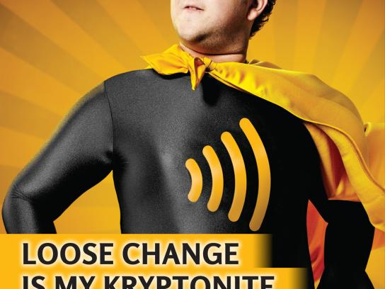 Interac Outdoor Ad -  Kryptonite