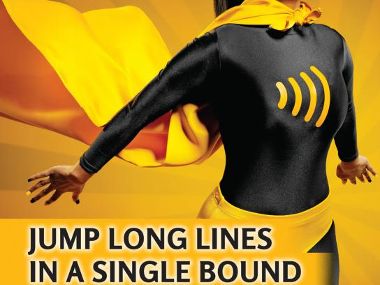 Interac Outdoor Ad -  Single Bound