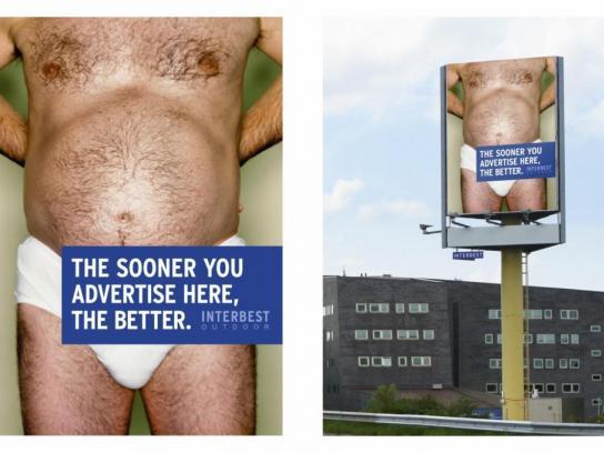 Interbest Outdoor Ad -  Man