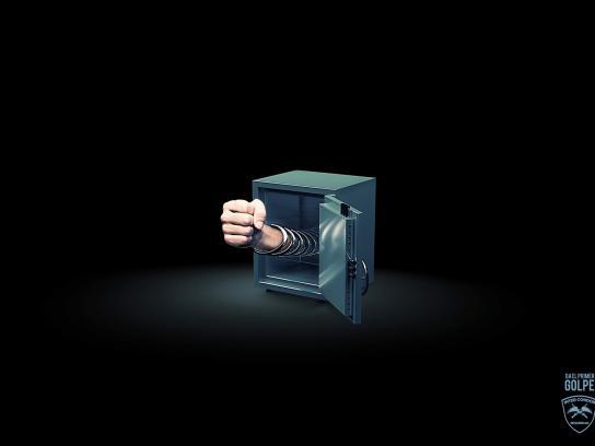 InterCondor Security Print Ad -  Safety Fist