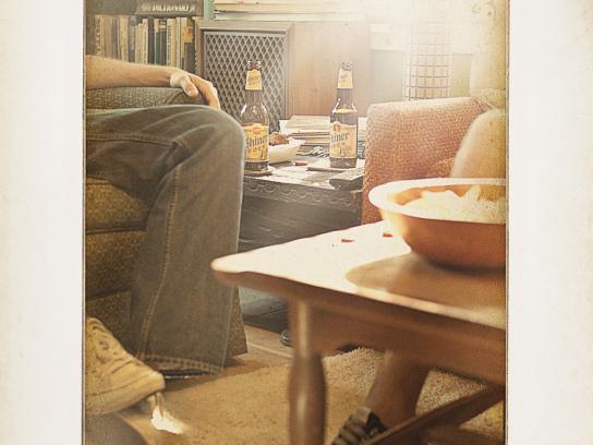 Shiner Bock Print Ad -  Interior