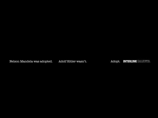Interlink Print Ad -  Nelson Mandela