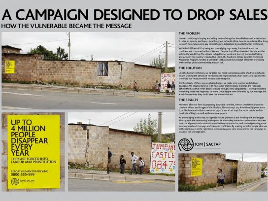 International Organisation For Migration Ambient Ad -  Alexandra Township