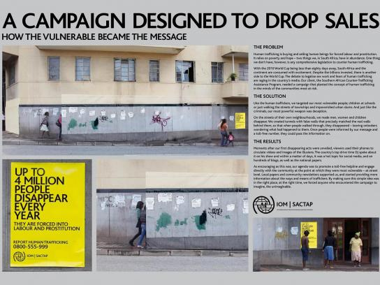 International Organisation For Migration Ambient Ad -  Hillbrow