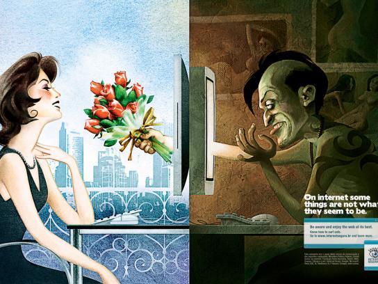 internetsegura Print Ad -  Date