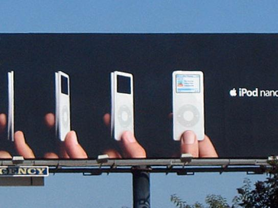 iPod Outdoor Ad -  Slim