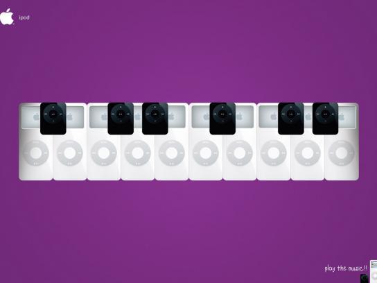 iPod Print Ad -  Keyboard