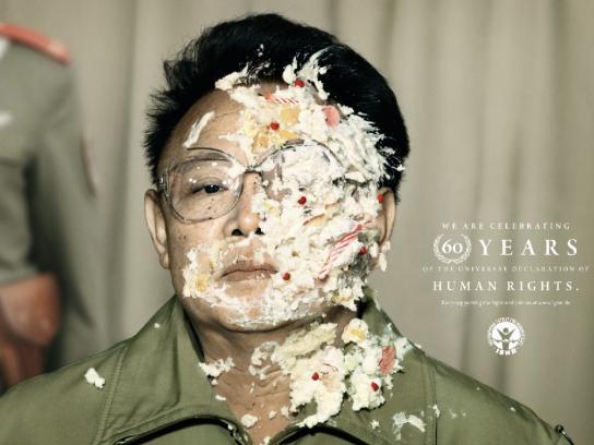 International Society for Human Rights Print Ad -  Kim