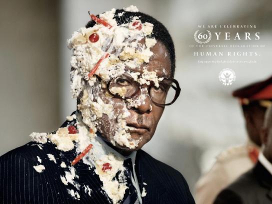 International Society for Human Rights Print Ad -  Mugabe