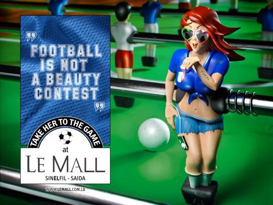 Le Mall Print Ad -  Italy