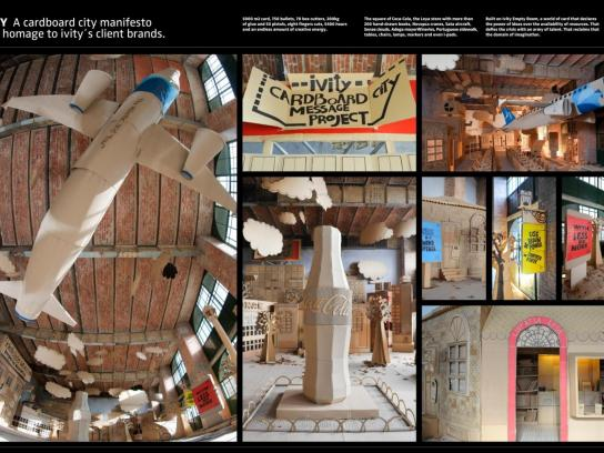 Ivity Ambient Ad -  Cardboard City