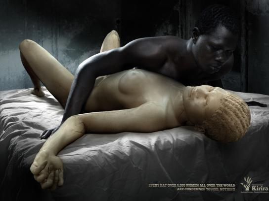 Kirira Foundation Print Ad -  Ivory Woman