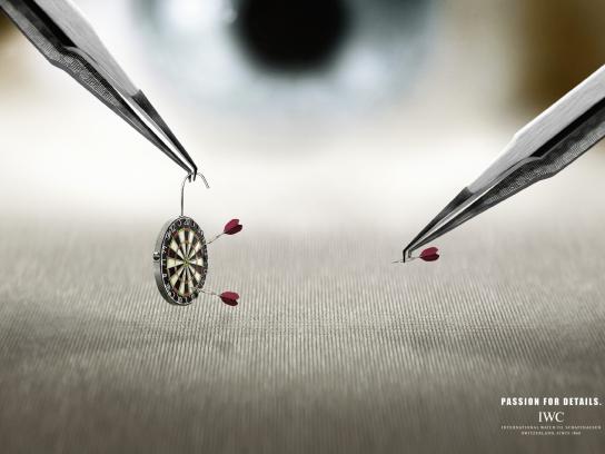 IWC Print Ad -  Darts
