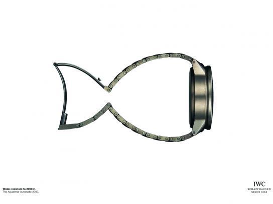 IWC Print Ad -  Fish