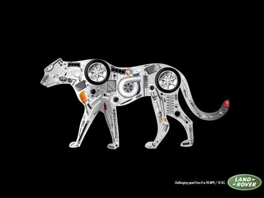 Land Rover Print Ad -  Jaguar