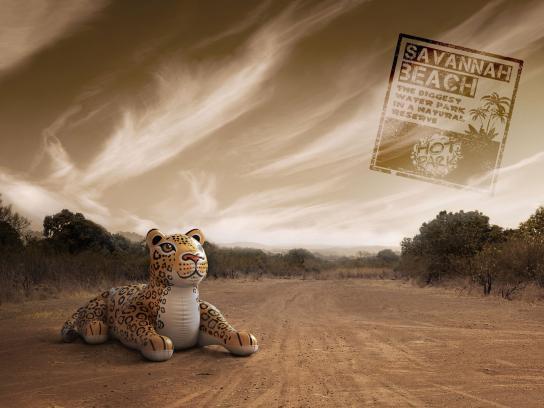 Hot Park Water park Print Ad -  Jaguar