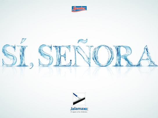 Spontex Print Ad -  Slave