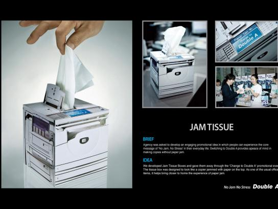 Double A Direct Ad -  Tissue jam