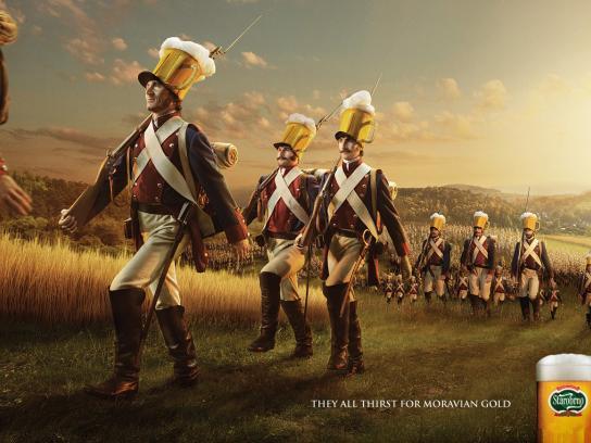 Starobrno Print Ad -  Armies, 1