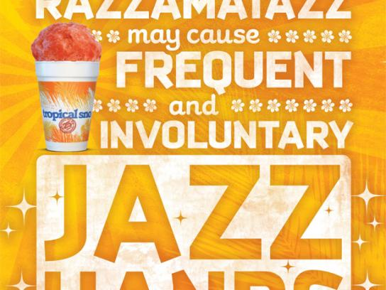 Tropical Sno Print Ad -  Jazz
