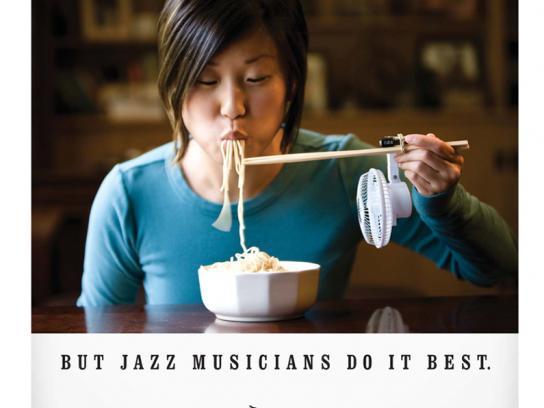 Jazz At Five Print Ad -  Fan