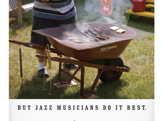 Jazz At Five Print Ad -  Barbecue