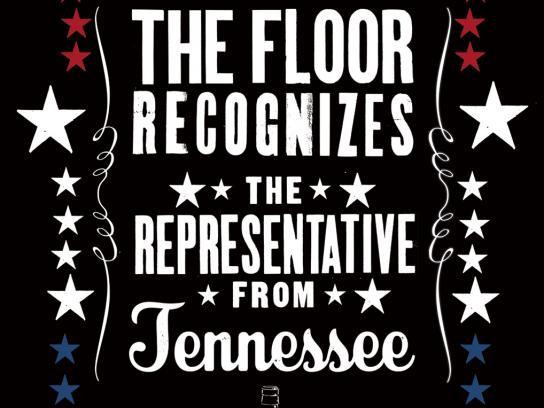 Jack Daniel's Print Ad -  Representative