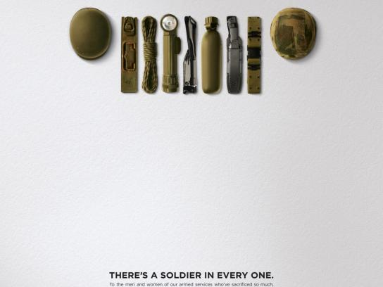Jeep Print Ad -  Soldier